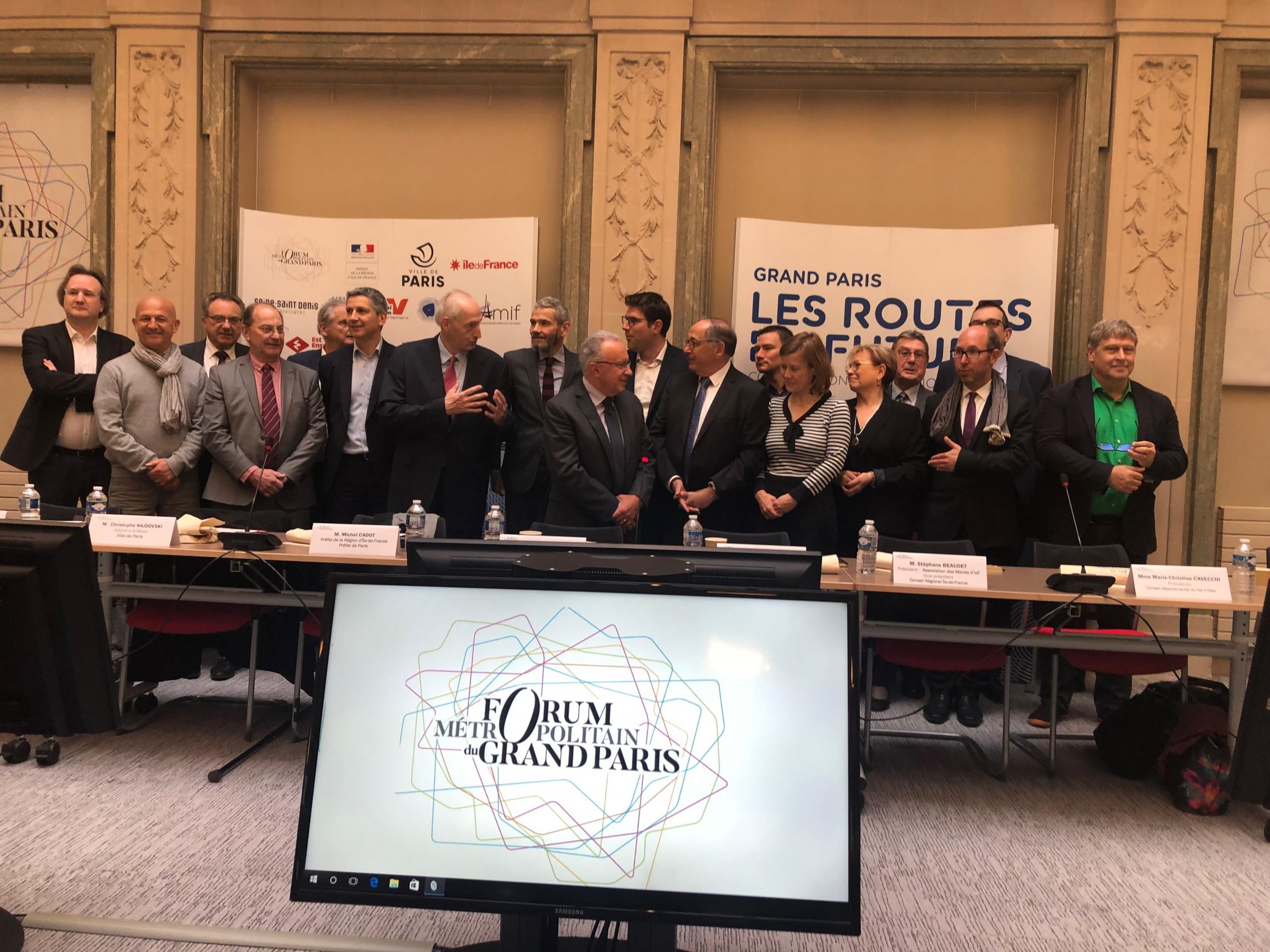 forum métropolitain du Grand Paris